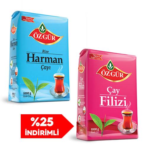 Öz-Gür - 4Kg. Harman + 1Kg. Filiz - Kargo Bedava