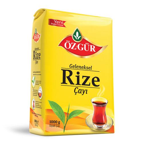 Öz-Gür - Geleneksel Rizenin Çayı 1000 g