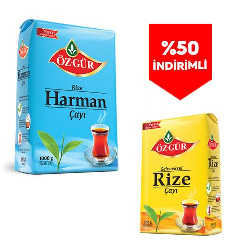 - 2 Kg. Harman. + 500 Gr. Rize( %50 İndirimli )