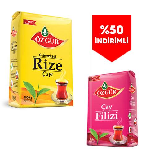 - 2 Kg. Rize + 500 Gr Filiz ( %50 İndirimli )
